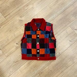 Vintage Corduroy Vest